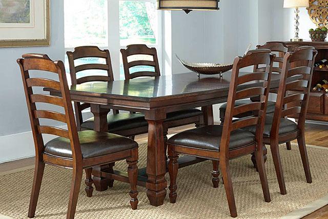 A-America Furniture dining room set from Wilk Furniture & Design in Random Lake