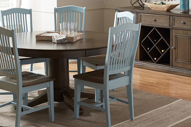 John Thomas dining room set from Wilk Furniture & Design in Random Lake