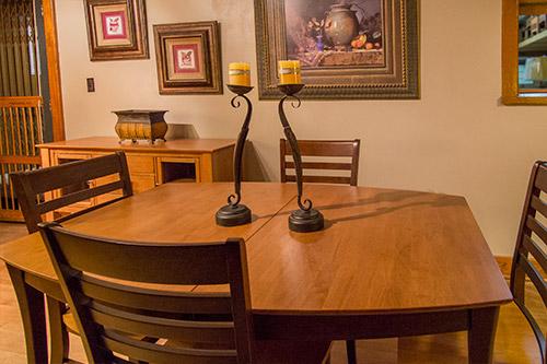 Dining room furniture at Wilk Furniture & Design in Random Lake