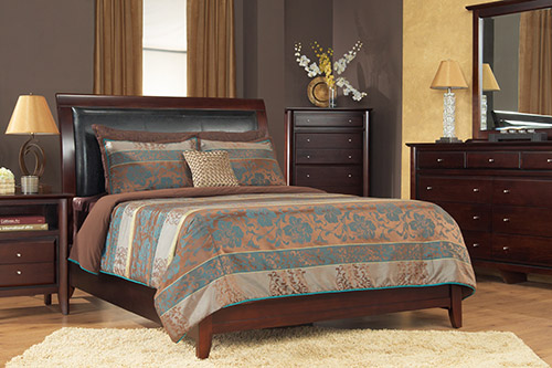 Modus transitional bedroom from Wilk Furniture & Design Random Lake Wisconsin