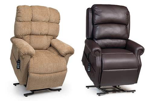 Ultra Comfort power lift recliners from Wilk Furniture & Design Random Lake Wisconsin