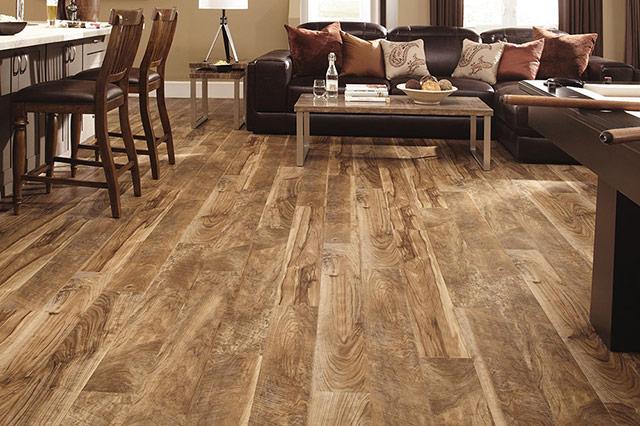 Mannington luxury vinyl plank wood flooring from Wilk Furniture & Design in Random Lake