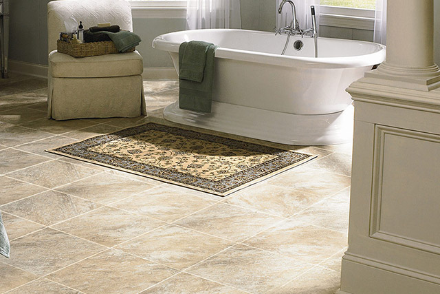 Mannington luxury vinyl tile flooring from Wilk Furniture & Design in Random Lake