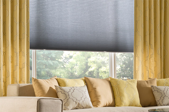 Graber window shades from Wilk Furniture & Design in Random Lake