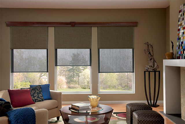 Graber solar window shades from Wilk Furniture & Design in Random Lake