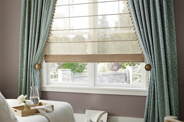 Graber Window Treatments from Wilk Furniture & Design in Random Lake