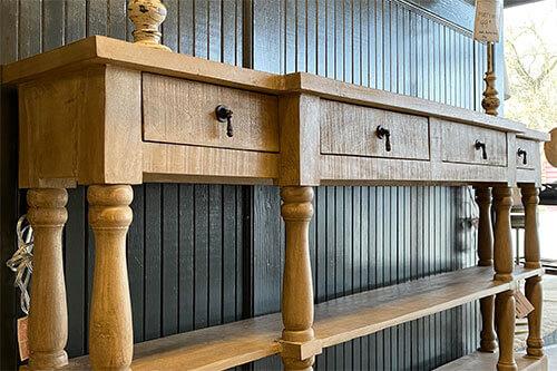 Console table Wilk Furniture Design Random Lake Sheboygan