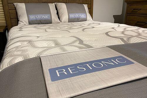 Restonic mattress Wilk Furniture Design Random Lake Sheboygan